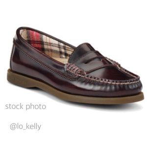 Sperry Hayden Penny Loafer Cordovan Leather 9.5